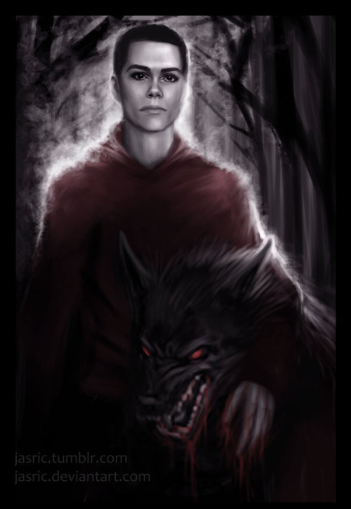 yorugami:   Little Red by ~jasric  Because there needs to be more BAMF! Stiles.