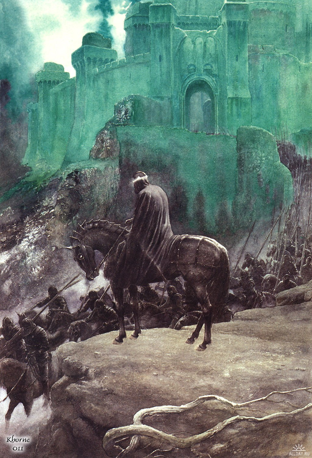 frodoforever:  The Witch King, by Alan Lee