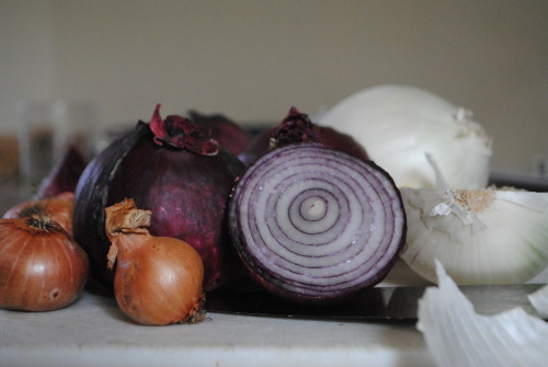 Onion Jam   Ingredients  (makes about 3 jars)   1.5kg Onions 1.5 tbsp oil 675ml balsamic vinegar 3 cups jamming sugar (sugar with added pectin)     Instructions  1) Chop the onions as finely as your eyes can take  2) Heat the oil over a medium heat in a large heavy bottomed saucepan and add the onions  3) Cook for about 15 until going translucent  Pour in the vinegar, turn up the heat and bring to the boil  4) Add the sugar, turn the heat down to a simmer and stir continuously until the mixture is thick and glossy  5) Pour into warm, steralised jars seal and allow to cool.  6) Keeps for several months in the fridge     Special Match: Hard goat's cheese