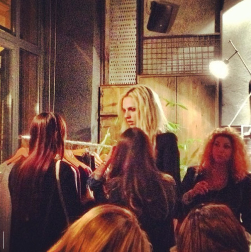 Andrej Pejic at The White T-shirt Project event (Pic from @kiverg)