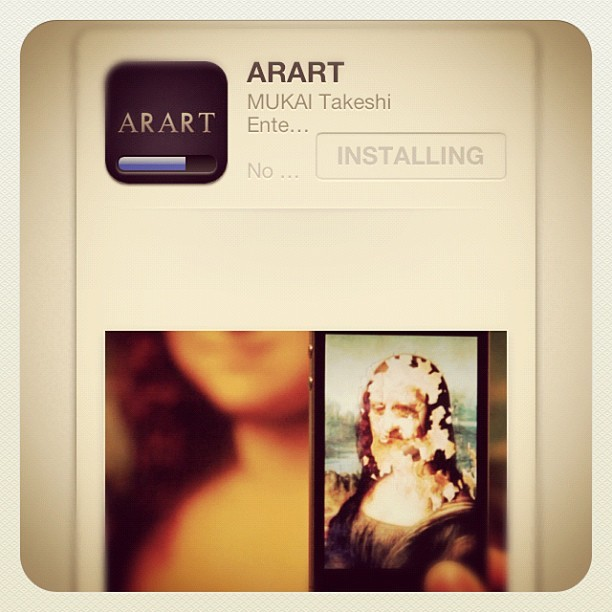If you like art or ANYTHING with pictures in it, you NEED this new app on your life. Paintings/artwork can be now be brought to LIFE via this app. Its called ARART. Check my tumblr for proof: iamAyo.tumblr.com. #iShitYouNot #Art #iPhone #Painting #Arart #Amazing (Taken with Instagram)