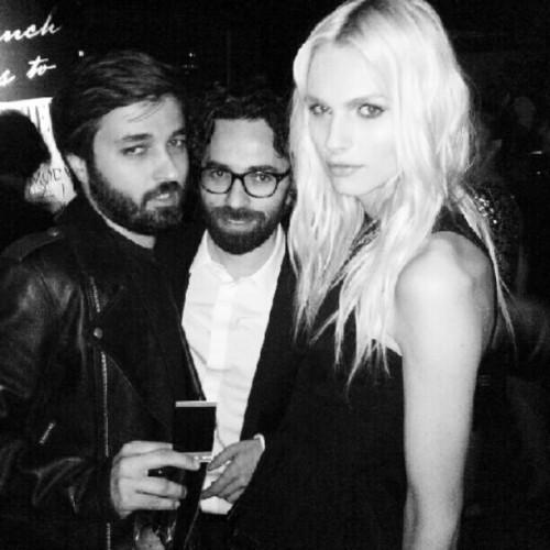 Andrej Pejic at L'Officiel Party (Pic from samisavatli)