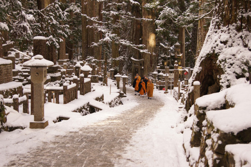 fromthefloatingworld:  Koyasan (Mount Koya) by Crystalline Radical on Flickr.