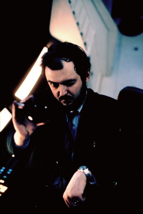 theswinginsixties:  Stanley Kubrick on the set of '2001: A Space Odyssey', 1968. Photo by Dmitri Kessel.