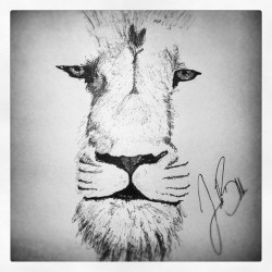 Oh. Hey Aslan. Forgot I left you there. #narnia #lion #penporn #oldies (Taken with Instagram at Just A Bed)
