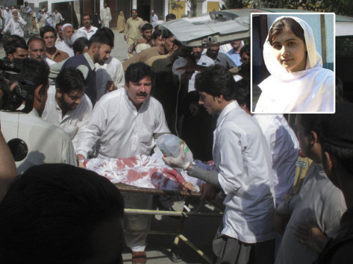 "nationalpost:  Pakistani surgeons remove bullet from 14-year-old Malala Yousafzai, but Taliban threaten to 'finish this chapter' Pakistani surgeons removed a bullet on Wednesday from a 14-year-old girl shot by the Taliban for speaking out against the militants and promoting education for girls, doctors said.Malala Yousafzai was in critical condition after gunmen shot her in the head and neck on Tuesday as she left school. Two other girls were also wounded.Yousafzai began writing a blog when she was just 11 under the pseudonym Gul Makai for the BBC about life under the Taliban, and began speaking out publicly in 2009 about the need for girls' education — which the Taliban strongly opposes. The extremist movement was quick to claim responsibility for shooting her.""This was a new chapter of obscenity, and we have to finish this chapter,"" Taliban spokesman Ahsanullah Ahsan by telephone. (Reuters)"