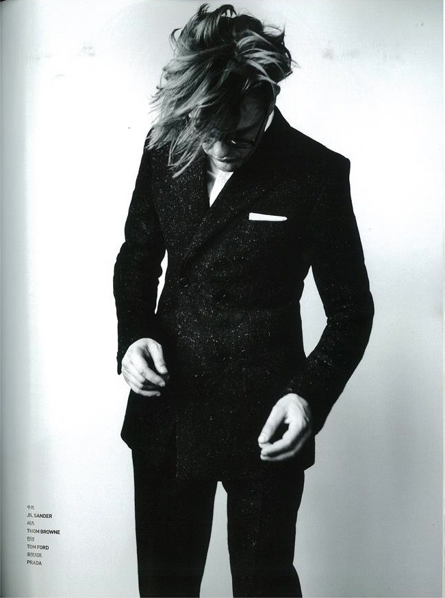 Michael Pitt in Jil Sander, GQ Style Korea