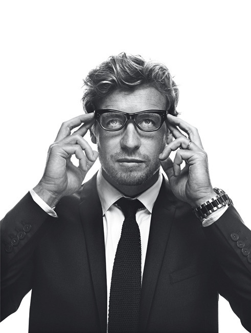 A Class Act in Black & White - Simon Baker