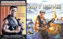 Commando vs Navy Moves