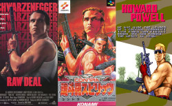 Raw Deal vs Contra III and Mercs