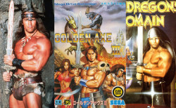 Conan vs Golden Axe III and Galdregon's Domain