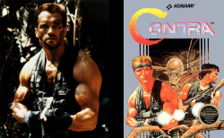 Of course, Predator vs Contra