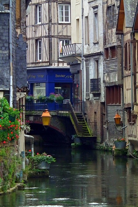 bluepueblo:  Riverside, Normandy, France photo via france