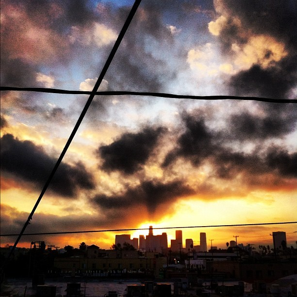 Good morning Los Angeles  (Taken with Instagram)