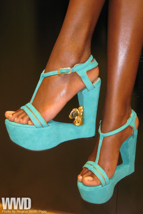 womensweardaily:  The Top 10 Craziest Runway Shoes  3. SW1