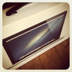 my new baby!! #geek  (Taken with Instagram at At Home)