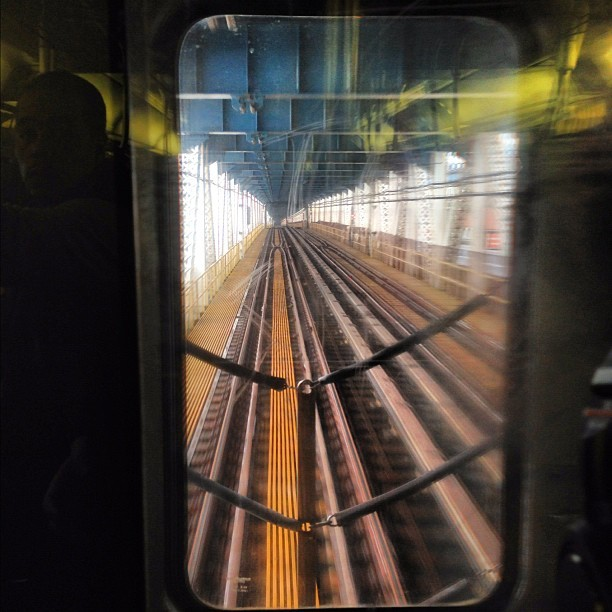 Taken with Instagram at Manhattan Bridge