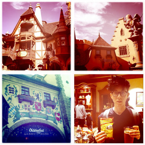 I need Epcot's Germany pavilion in my life right now…