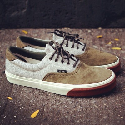 ronniefieg:  Vans Era 59. Available at Kith Manhattan and KithNYC.com. $70 USD. (Taken with Instagram)