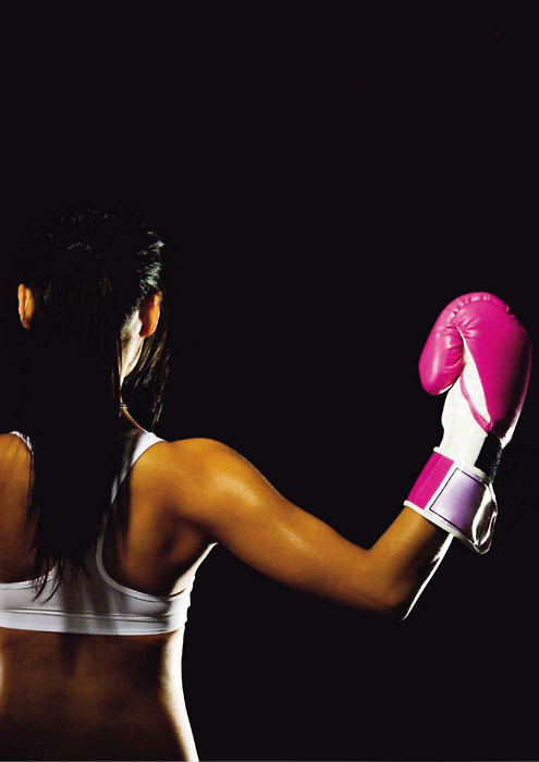 boxing-girl:  Harder, Better, Faster Stronger, FIGHTER!