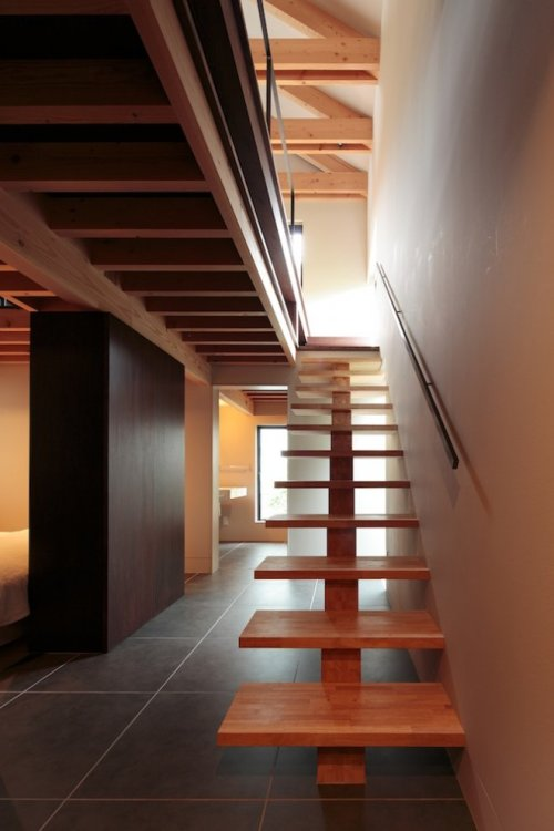 tamaranzaka house | stair ~ mds