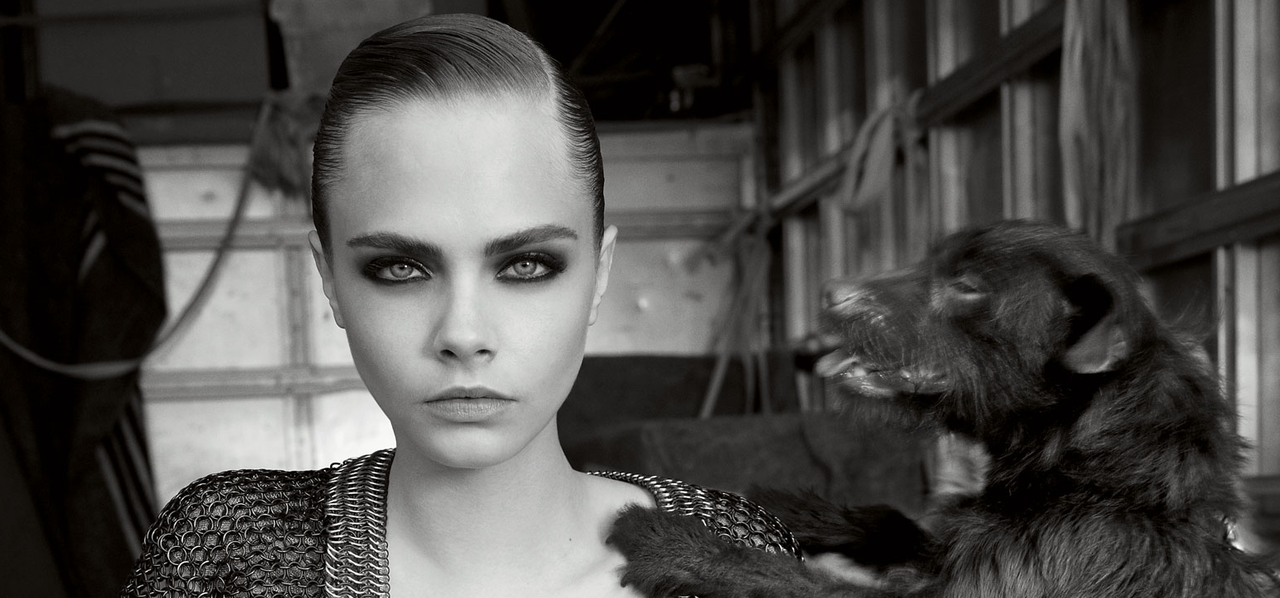 Cara Delevingne in Vogue UK November 2012 Issue