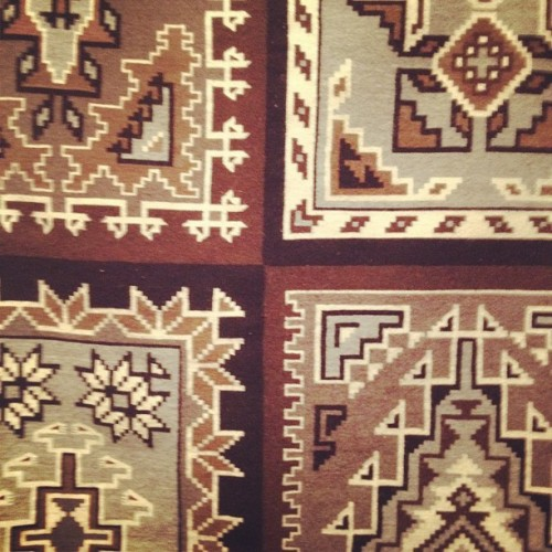 Multi pattern Navajo Weavings exhibition coming soon (Taken with Instagram)