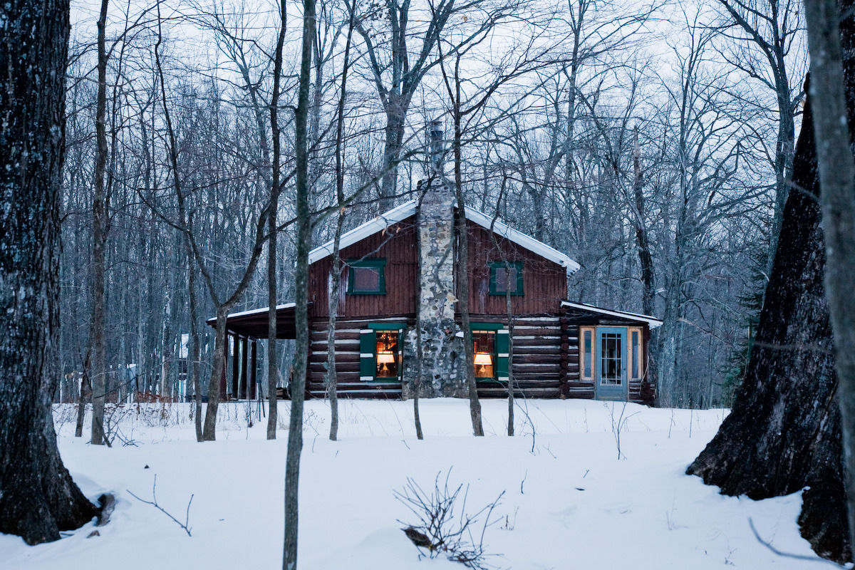 cabinporn:  1920's Hunting Camp in Northern Wisconsin restored by Patrick McGuire. Submitted and photographed by Matthew Allen.