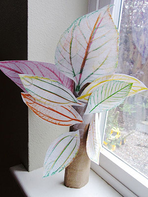 Natural Inspiration: Lovely Leaf Crafts for Kids