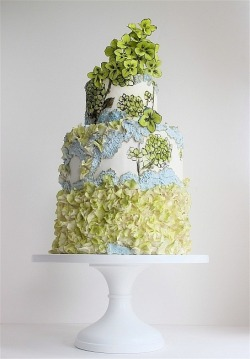 Lovely wedding cake from MaggieAustin