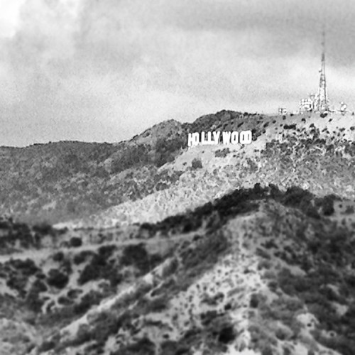 #Hollywood Hills view  (Taken with Instagram at Griffith Observatory)