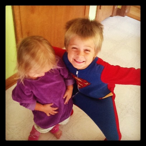 These two are sooooo cute, I can't breathe. #littlesister #littlebrother #family #adorable #toocutefortheworld (Taken with Instagram)
