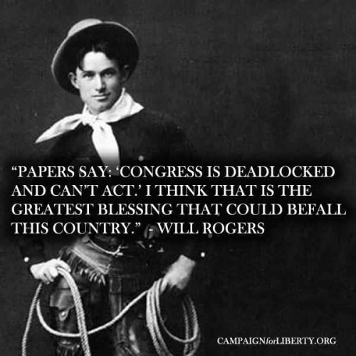 Love me some Will Rogers