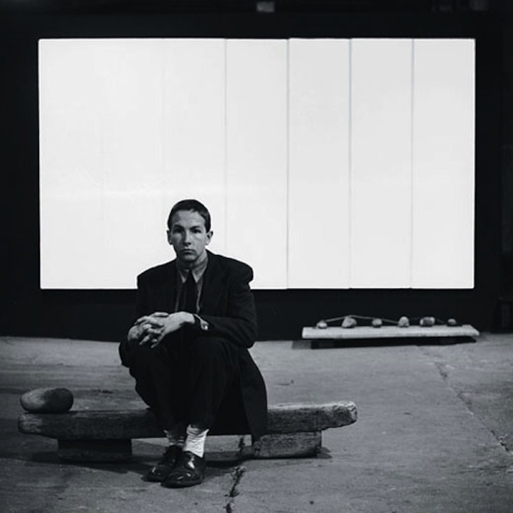Robert Rauschenberg  '50s (Source: onlycolorandlight)