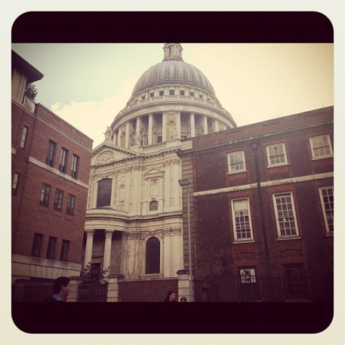 St Paul's cathedral #architecture #london #church  (Taken with Instagram)