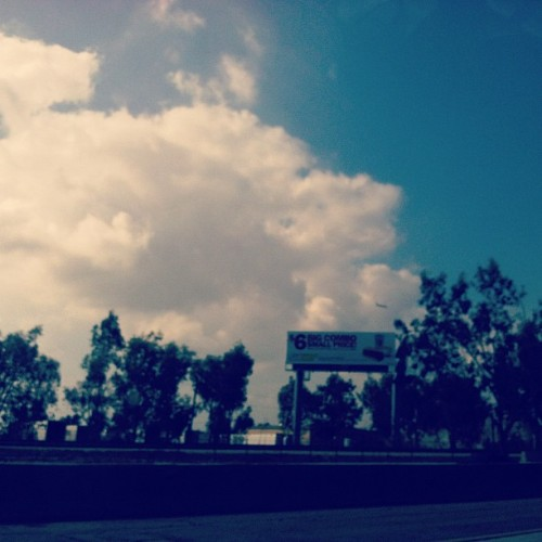 #nature #clouds #fluffy #white #loveit #sunny #plane #10fwy #sky (Taken with Instagram at 10 fwy)