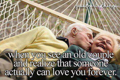 always-be-kind:  <3 When you see an old couple and realize that someone can love you forever