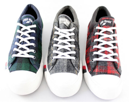"Woolrich x PRO-Keds Royal Master DK - Hunting Plaid Pack three great plaid colourways coming from this collab. wool plaid uppers in some classic colours. click here for more pics Related articles DJ Clark Kent x PRO-Keds ""BROOKLYN"" Royal Master (hypebeast.com)"
