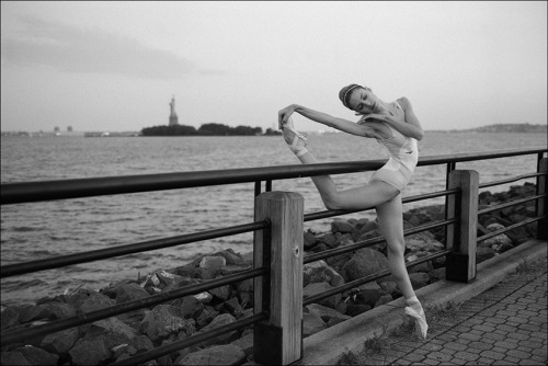 ballerinaproject:  Violeta - Liberty State Park Become a fan of the Ballerina Project on Facebook. Follow the Ballerina Project on Pinterest