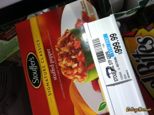 Extremely Expensive Pepper Stouffer's must have started using REAL peppers.
