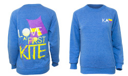 Love at First Kite - Kappa Alpha Theta Sweatshirt