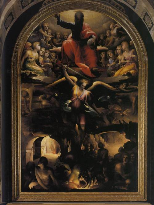 BECCAFUMI, DomenicoFall of the Rebel Angelsc. 1528Oil on wood, 347 x 225 cmSan Niccolò al Carmine, Siena