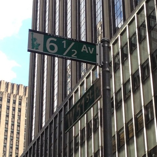 rubenfeld:  6 1/2 Ave, N.Y. (Taken with Instagram)