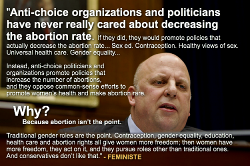 "lesilencieux:  ""Yes, we are all very disgusted that Scott DeJarlais, a ""pro-life"" Republican Tea Party Congressman and doctor, slept with a patient, got her pregnant and then pushed her to have an abortion. Pro-life! Except when a pregnancy is inconvenient for him personally.""  READ THE FULL ARTICLE HERE - ""Wait you mean pro-life politicians think they can control women's reproductive choices?"""