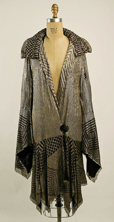Coat 1926 The Metropolitan Museum of Art