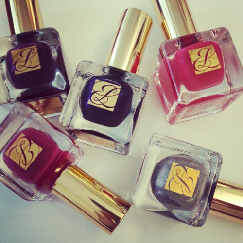 Estee Lauder polishes Photographed by Eva Chen