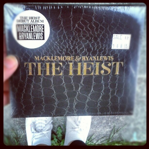 Walked my ass to the store to buy @macklemore new album. Wanted to be able to hold it. #appreciation (Taken with Instagram)
