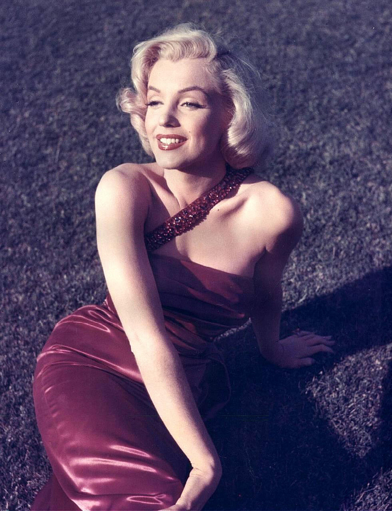 Marilyn 1953 photo: Sammy Davis Jr.