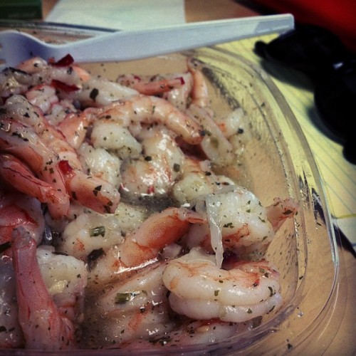 #cilantro #lime #shrimp oh #costco how you spoil me 😘🍤 (Taken with Instagram)