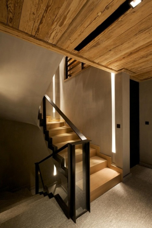 justthedesign:  Timber Staircase